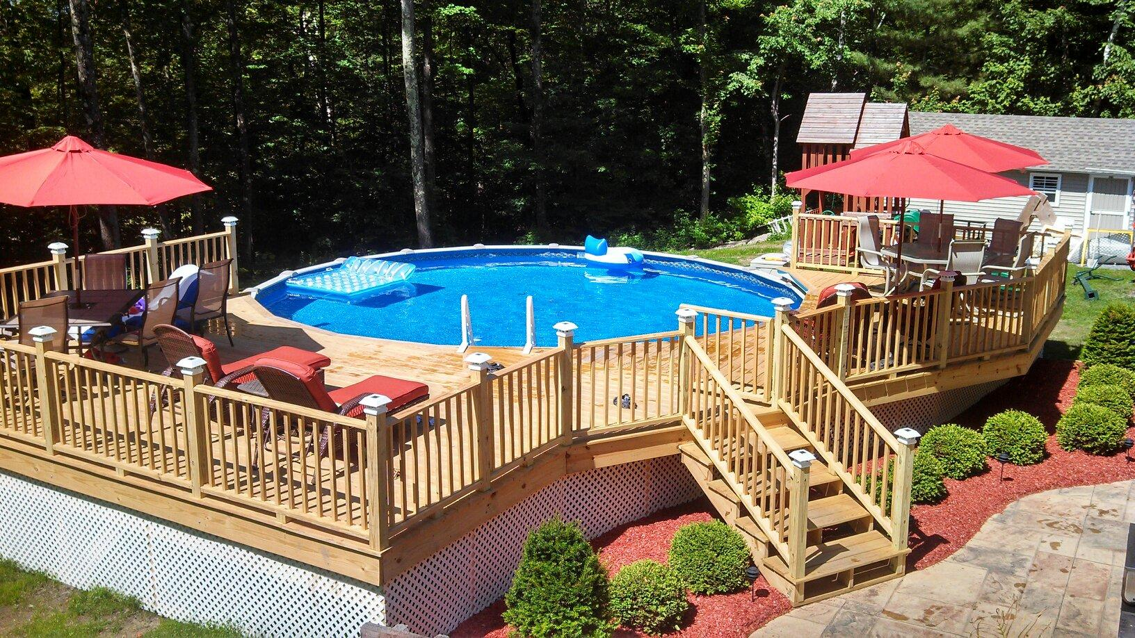 guertinpooldeck distinctionpool distinction the purchase of an aboveground pool provides years of
