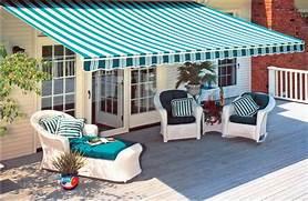 Bennington Pool Hearth Retractable And Fabric Awnings